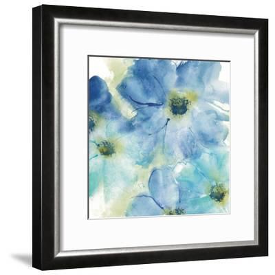 Seashell Cosmos I White-Chris Paschke-Framed Art Print