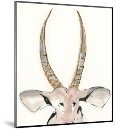 Gilded Antelope-Chris Paschke-Mounted Art Print