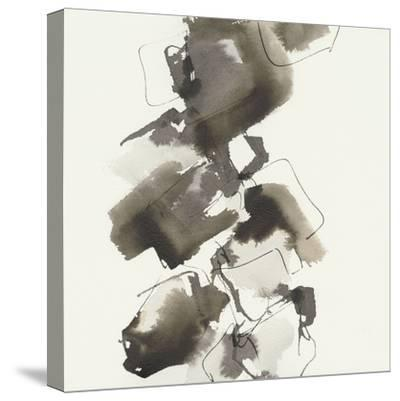 Stacked II Greige-Chris Paschke-Stretched Canvas Print