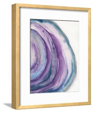 Watercolor Geode II-Chris Paschke-Framed Art Print
