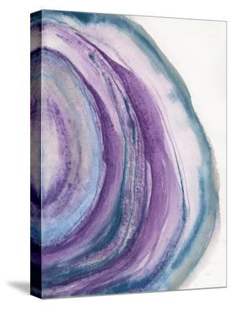 Watercolor Geode II-Chris Paschke-Stretched Canvas Print