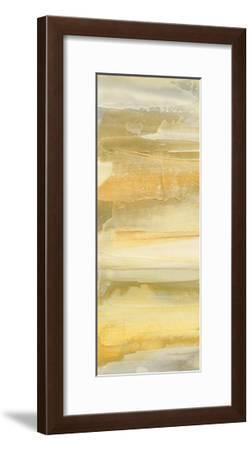 Grey and Gold II-Chris Paschke-Framed Art Print