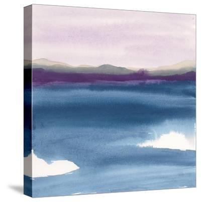 Plum Glow II-Chris Paschke-Stretched Canvas Print