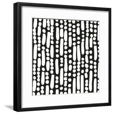Cross Current Square Up IV BW Art Print by Cheryl Warrick   Art com