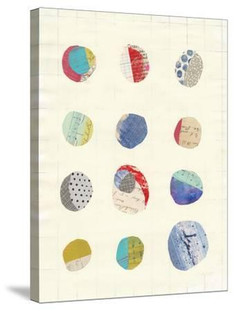 Geometric Collage II-Courtney Prahl-Stretched Canvas Print