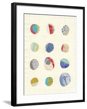 Geometric Collage II-Courtney Prahl-Framed Art Print