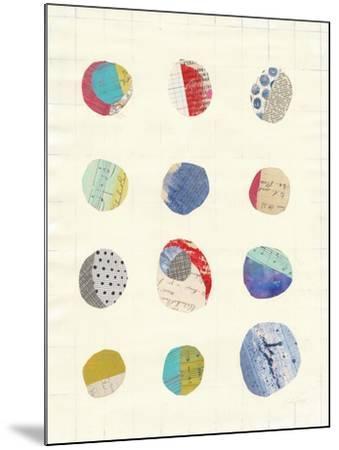 Geometric Collage II-Courtney Prahl-Mounted Art Print