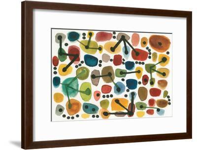 Mid Century I-Cheryl Warrick-Framed Art Print