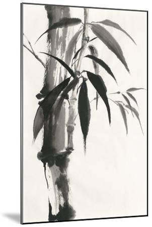 Sumi Bamboo-Chris Paschke-Mounted Art Print