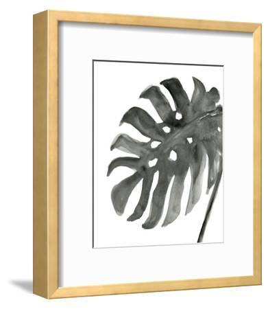 Tropical Palm IV BW-Chris Paschke-Framed Art Print