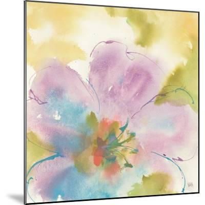 Flower Tints II-Chris Paschke-Mounted Art Print