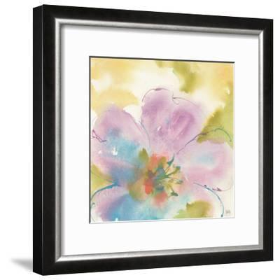 Flower Tints II-Chris Paschke-Framed Art Print