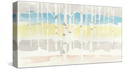 Springlake Aspens Crop-Avery Tillmon-Stretched Canvas Print