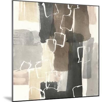 Dancing Squares II-Chris Paschke-Mounted Art Print