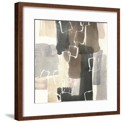 Dancing Squares II-Chris Paschke-Framed Art Print
