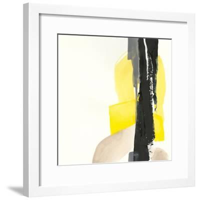 Black and Yellow I-Chris Paschke-Framed Art Print