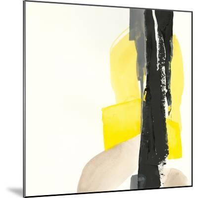 Black and Yellow I-Chris Paschke-Mounted Art Print