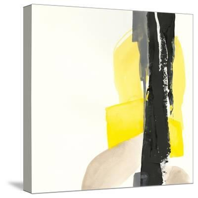Black and Yellow I-Chris Paschke-Stretched Canvas Print