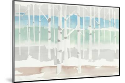 Springlake Aspens Green Crop-Avery Tillmon-Mounted Art Print