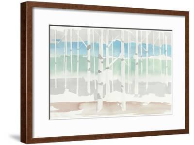 Springlake Aspens Green Crop-Avery Tillmon-Framed Art Print