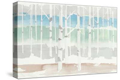 Springlake Aspens Green Crop-Avery Tillmon-Stretched Canvas Print