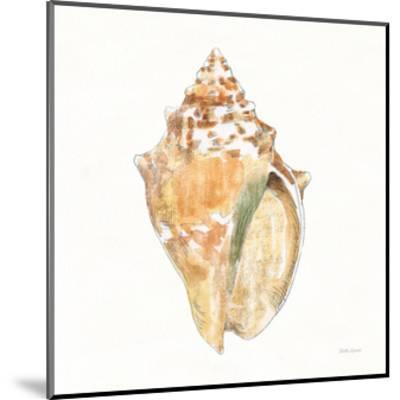Golden Treasures V on White-Beth Grove-Mounted Art Print