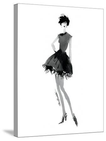 Modern Fashion III-Anne Tavoletti-Stretched Canvas Print