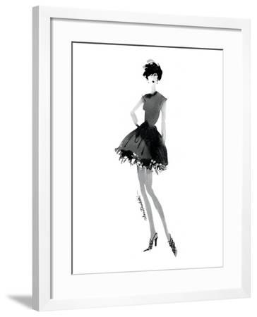 Modern Fashion III-Anne Tavoletti-Framed Art Print