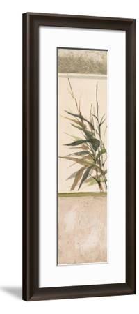 Scrolled Textural Grass III-Chris Paschke-Framed Art Print