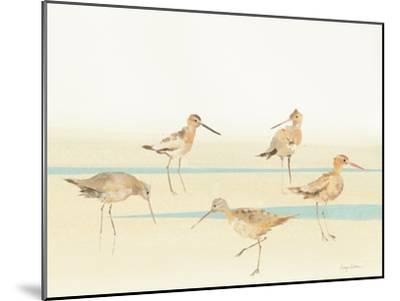 Watercolor Sandpipers I-Avery Tillmon-Mounted Art Print
