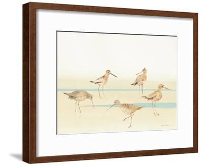 Watercolor Sandpipers I-Avery Tillmon-Framed Art Print