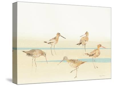Watercolor Sandpipers I-Avery Tillmon-Stretched Canvas Print