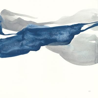 Sapphire and Gray III-Chris Paschke-Framed Art Print