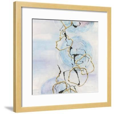 Abstract Lines on Pastel II-Chris Paschke-Framed Art Print