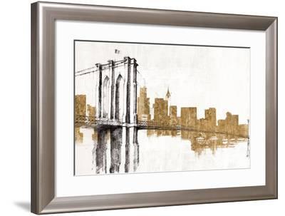 Skyline Crossing Gold-Avery Tillmon-Framed Art Print