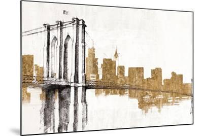 Skyline Crossing Gold-Avery Tillmon-Mounted Art Print