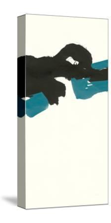 Minimal Panel II Teal-Chris Paschke-Stretched Canvas Print