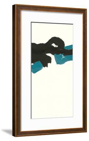 Minimal Panel II Teal-Chris Paschke-Framed Art Print
