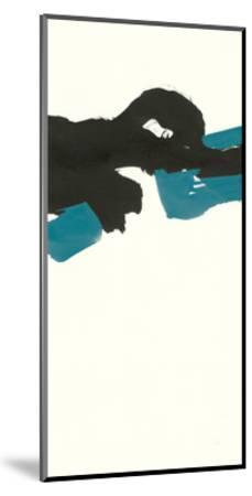Minimal Panel II Teal-Chris Paschke-Mounted Art Print