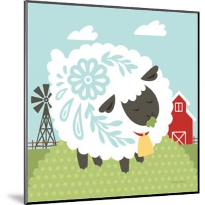 Little Farm I-Cleonique Hilsaca-Mounted Art Print