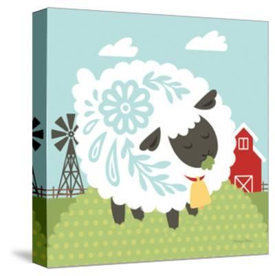 Little Farm I-Cleonique Hilsaca-Stretched Canvas Print