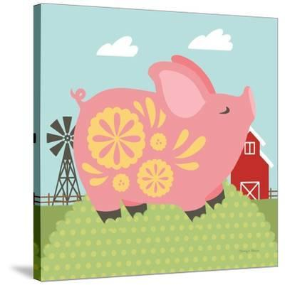 Little Farm III-Cleonique Hilsaca-Stretched Canvas Print