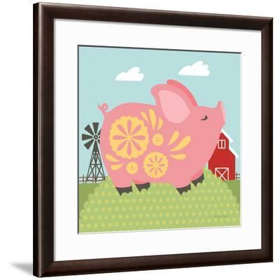 Little Farm III-Cleonique Hilsaca-Framed Art Print