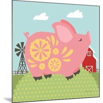 Little Farm III-Cleonique Hilsaca-Mounted Art Print