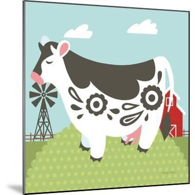 Little Farm IV-Cleonique Hilsaca-Mounted Art Print