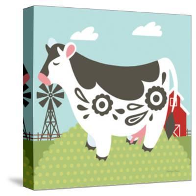 Little Farm IV-Cleonique Hilsaca-Stretched Canvas Print