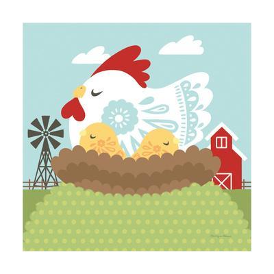 Little Farm II-Cleonique Hilsaca-Framed Art Print