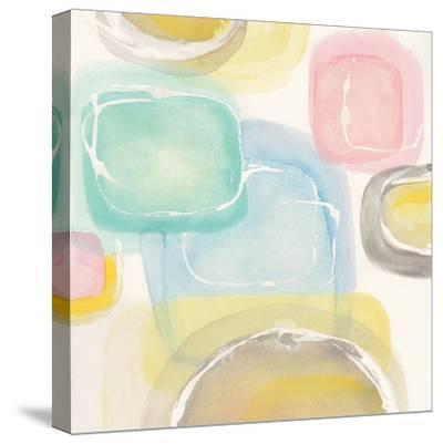 Colorful Squares II-Chris Paschke-Stretched Canvas Print