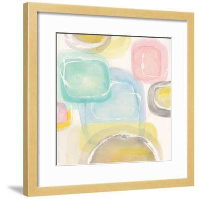 Colorful Squares II-Chris Paschke-Framed Art Print