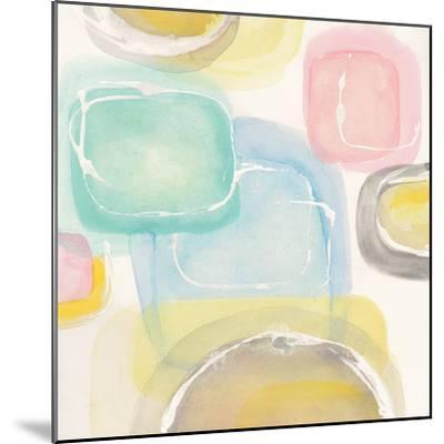 Colorful Squares II-Chris Paschke-Mounted Art Print